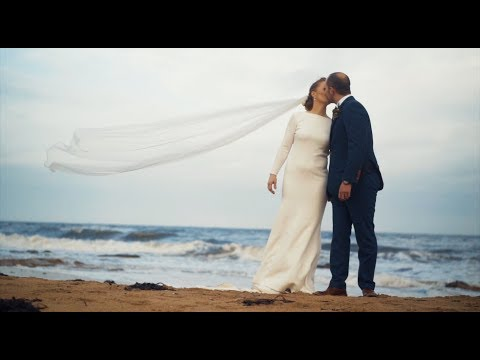 Weeze & Trav Wedding Day | Wild Dance Party Wedding in Kingsbarns, Scotland | October 2017