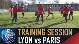 TRAINING SESSION - ENTRAINEMENTS - LYON vs PARIS