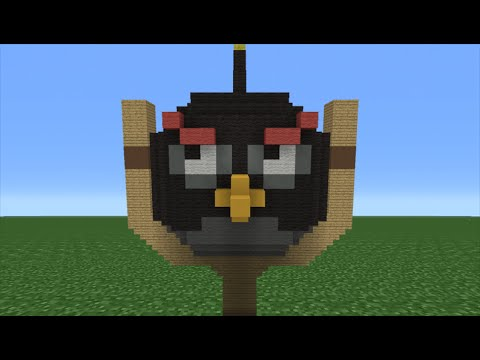 Minecraft Tutorial: How To Make A Bomb House (Angry Birds Movie)