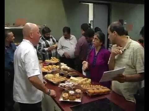 Demonstration on Bakery Product by chef  Benny - Navi Mumbai Innovation Centre - Part6
