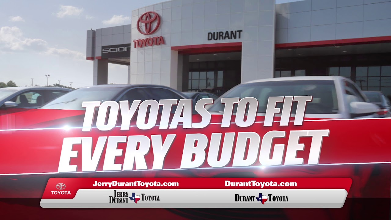 Jerry Durant Toyota >> Jerry Durant Toyota Over Under