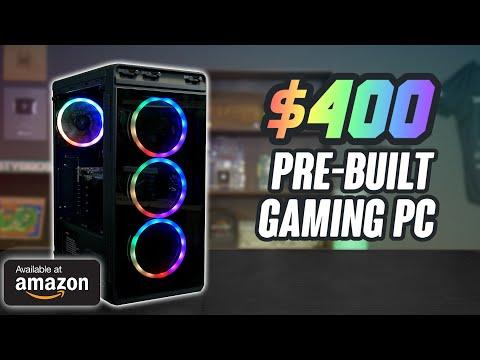 We Bought a $400 GAMING PC on AMAZON