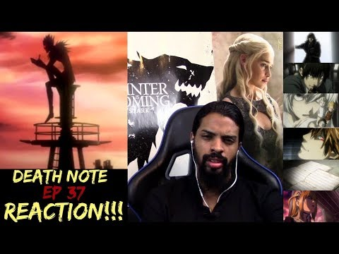 "Death Note Episode 37 FINALE!!! REACTION/REVIEW!!!!! ""New World"""