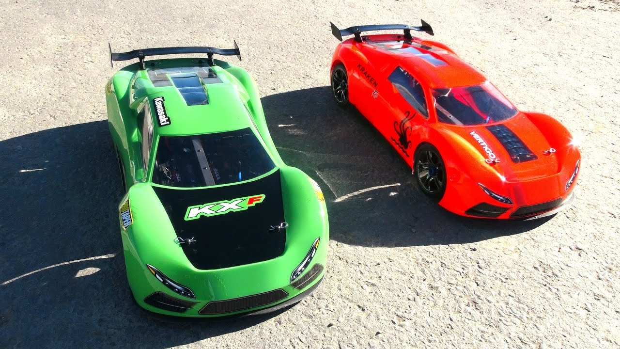 RC ADVENTURES Learning to race TRAXXAS XO 1 SUPER CARS Locked