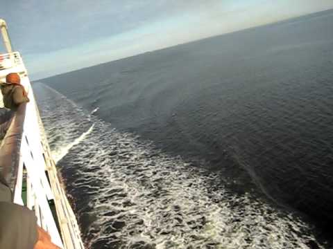 Open baltic sea, Riga to Stockholm 1: Movie By Qaisar