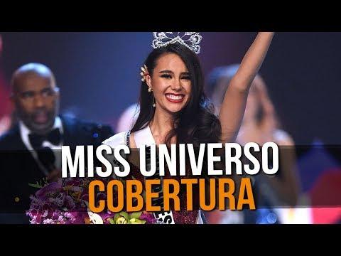 COBERTURA DO MISS UNIVERSO  sTNT