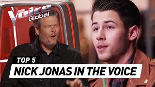 Songs by new THE VOICE USA coach 'NICK JONAS' of Jonas Brothers