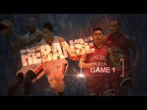 HIGHLIGHTS: Ginebra vs. Meralco (VIDEO) Finals Game 1