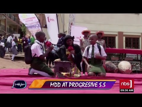 MDD Day at Progressive SS Kitintale| NBS Youth Voice