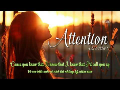 [Lyrics+Vietsub] Charlie Puth - Attention