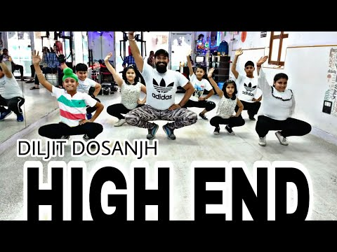 High End || Diljit Dosanjh || kids Bhangra Choreography || Dance Cover || New Punjabi song 2018
