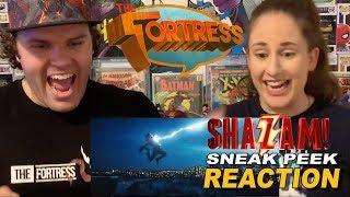 Shazam Sneak Peek REACTION