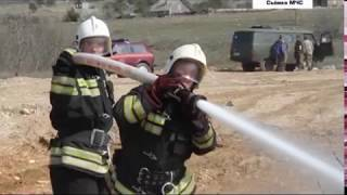 21.06.2017 В Севастополе горят свалки и некошеная трава
