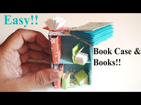 Easy Origami Book & Bookshelf!