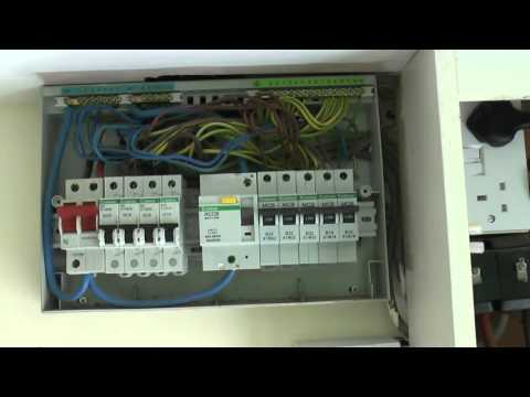 mains supply and consumer unit youtube Havel 4-Way Consumer Unit