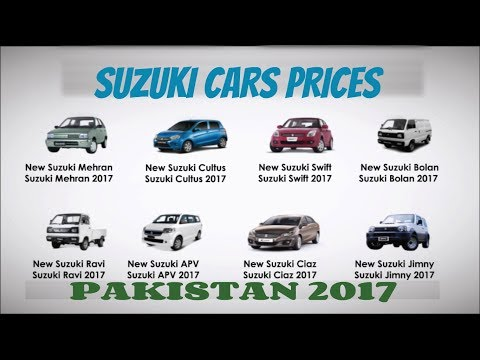 Suzuki All Cars Prices & features in Pakistan | Details 1/2
