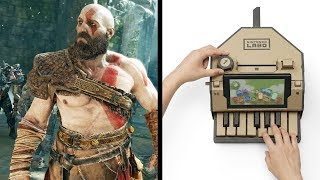 Review Roundup - April - (God of War, Nintendo Labo)