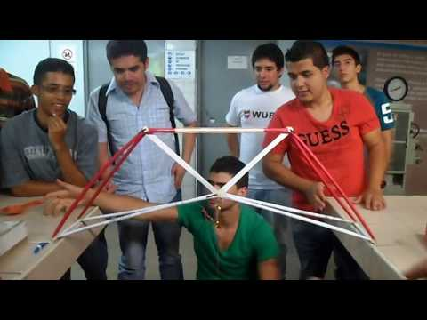 """First try of Colombia for """"Truss competition 2013"""""""