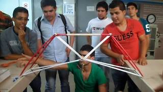 "First try of Colombia for ""Truss competition 2013"""
