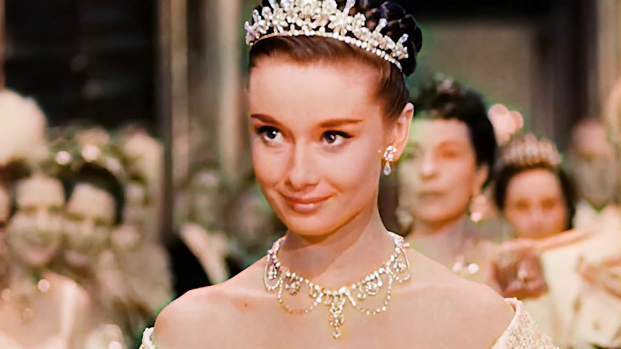 Download #colorized version#Roman Holiday 1953 [ 1/13 ] Gregory Peck & Audrey Hepburn 1080p HD罗马假日彩色版本