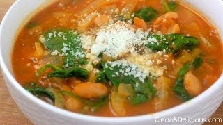 Fennel, Tomato And White Bean Soup