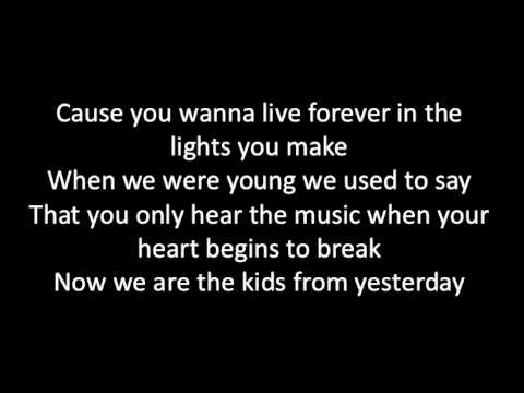 My Chemical Romance - The Kids From Yesterday (lyrics)