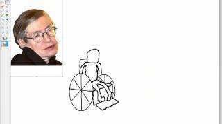 How to draw Stephen Hawking like a pro.