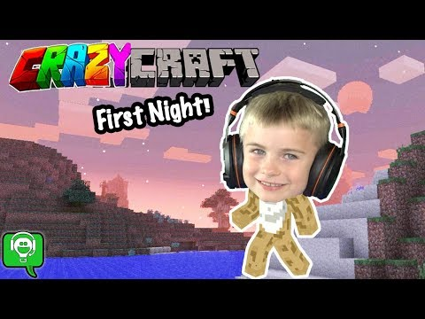 HobbyFrogs First Night In Crazycraft HobbyKidsGaming