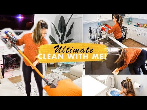FALL DISASTER CLEAN WITH ME 2019 I  UNDECORATE