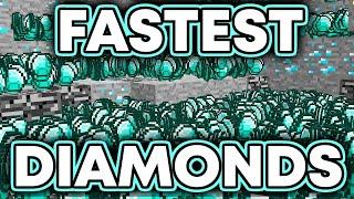 FASTEST & EASIEST way to find DIAMONDS in Minecraft!