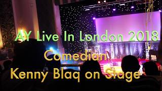 Kenny Blaq Captures Londoners Heart Once Again At AY Live In London