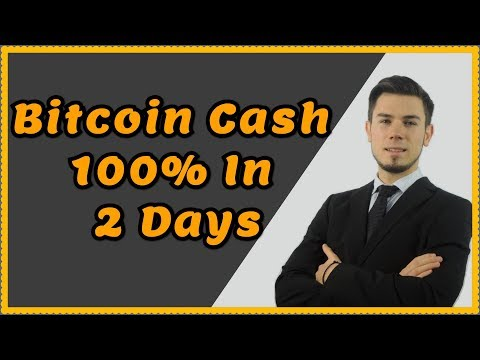 Bitcoin Cash 100% UP In 2 Days ! Technical Analysis For April