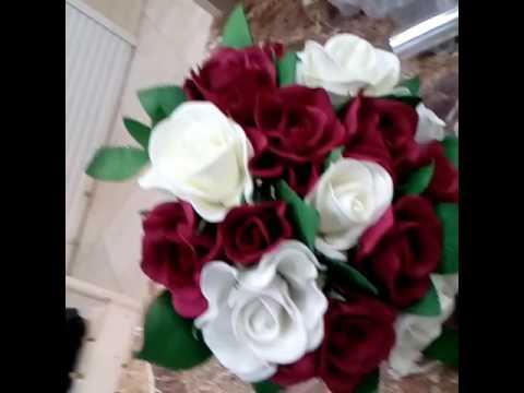 Букет Невесты Дублер/ Wedding bouquet. - YouTube