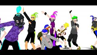 『MMD Splatoon Manga』 One Two Three