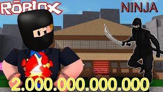 ROBLOX-building My Ninja factory of R$2,000,000 Reais (Ninja Tycoon)