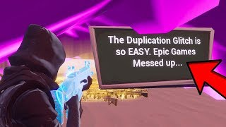 Fortnite did another OOPSIE... (Dupe Glitch 3.0)