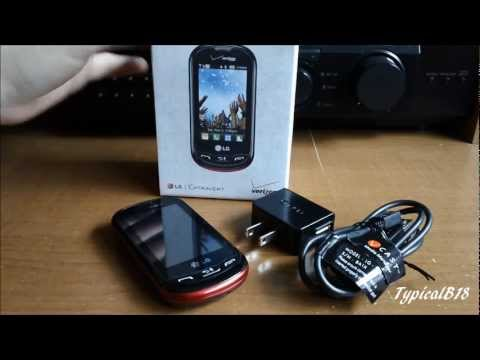 LG Extravert (VN271) Verizon Wireless Mobile Phone Review/Look