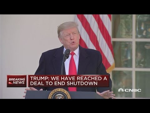 President Trump: Will sign a bill to reopen government until Feb. 15 Mp3