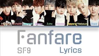 "SF9 (에스에프나인)- ""Fanfare (팡파레)"" Color Coded Lyrics Han/Rom/Eng"