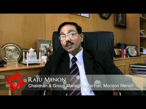 Executive Focus: Raju Menon, Chairman and Group Managing Partner, Morison Menon