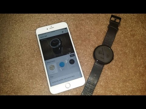 moto 360 with iphone moto 360 on iphone 6s plus 15709