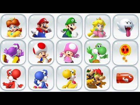 Super Mario Run - All Characters - New Character (Princess Daisy)