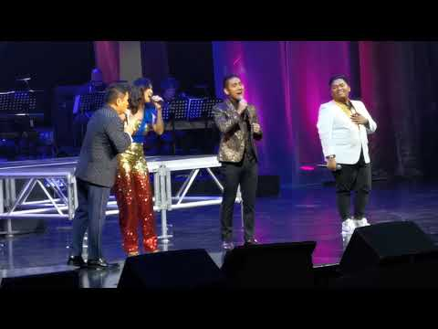 TNT Top 3 Elaine Duran John Mark Saga John michael Dela cerna with Ogie Alcasid in concert at RWM