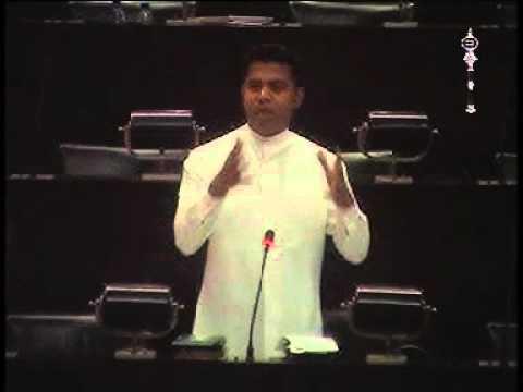 Dr. Nalinda Jayathissa's Budget Speech on 10.12.2015 (Ministry of Health)