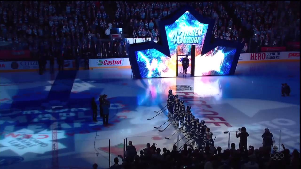 Toronto Maple Leafs Home Opener Player Introductions Oct 5th 2013 Hd Youtube