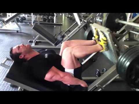 Andrew Hudson Leg press feb 2013