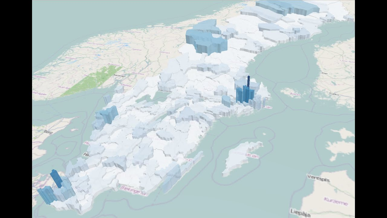 QGIS Quick Tip D Visualization YouTube - Sweden map 3d