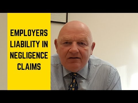 Employers' Liability In Negligence Claims In Ireland