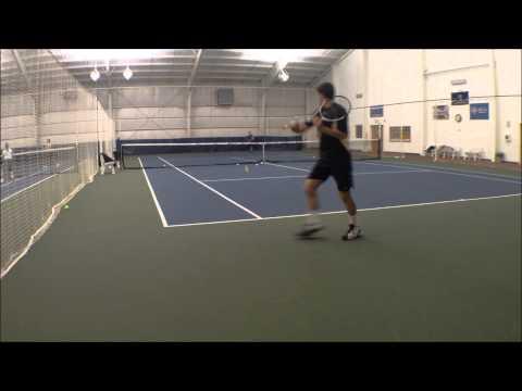 Jonathan Harrison College Tennis Recruitment Video