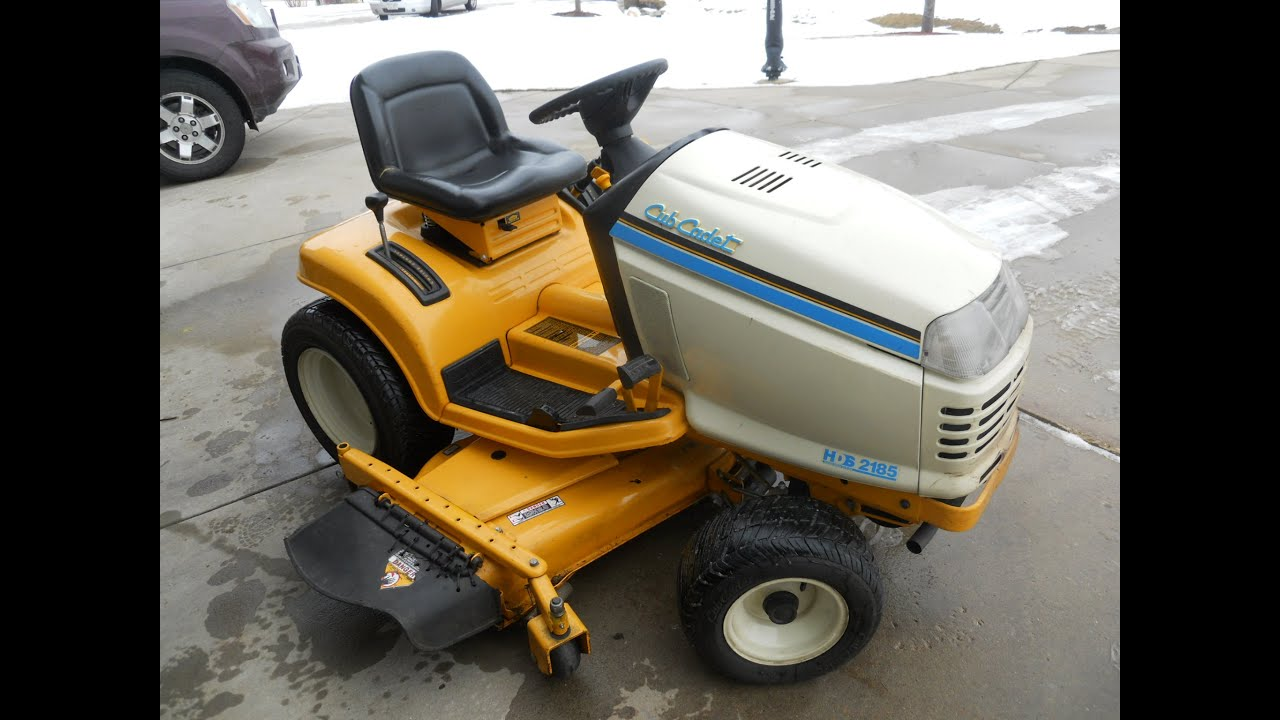 REVIEW 1994 Cub Cadet 2185 YouTube
